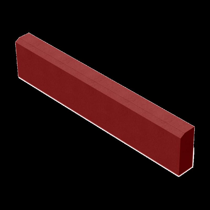 БР 100.20.8 камень бортовой красный
