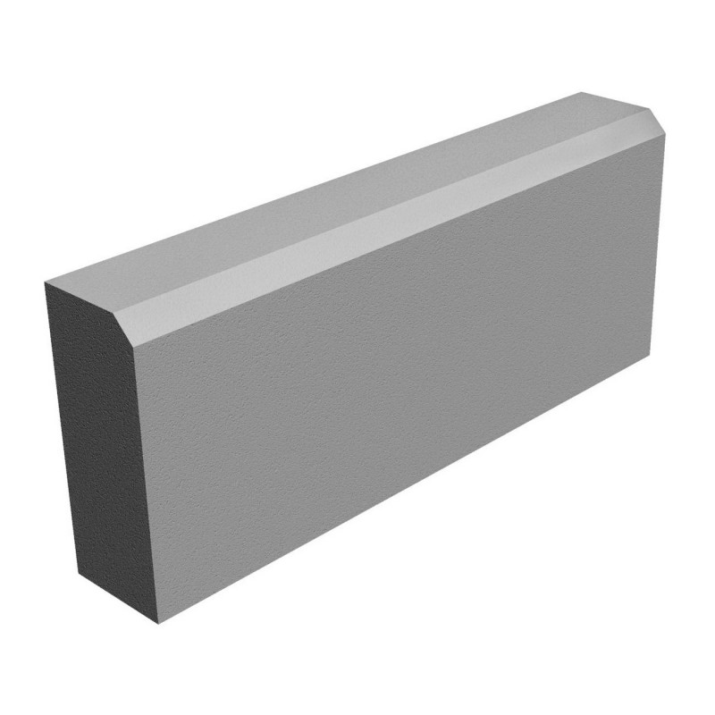 БР 50.20.8 камень бортовой серый
