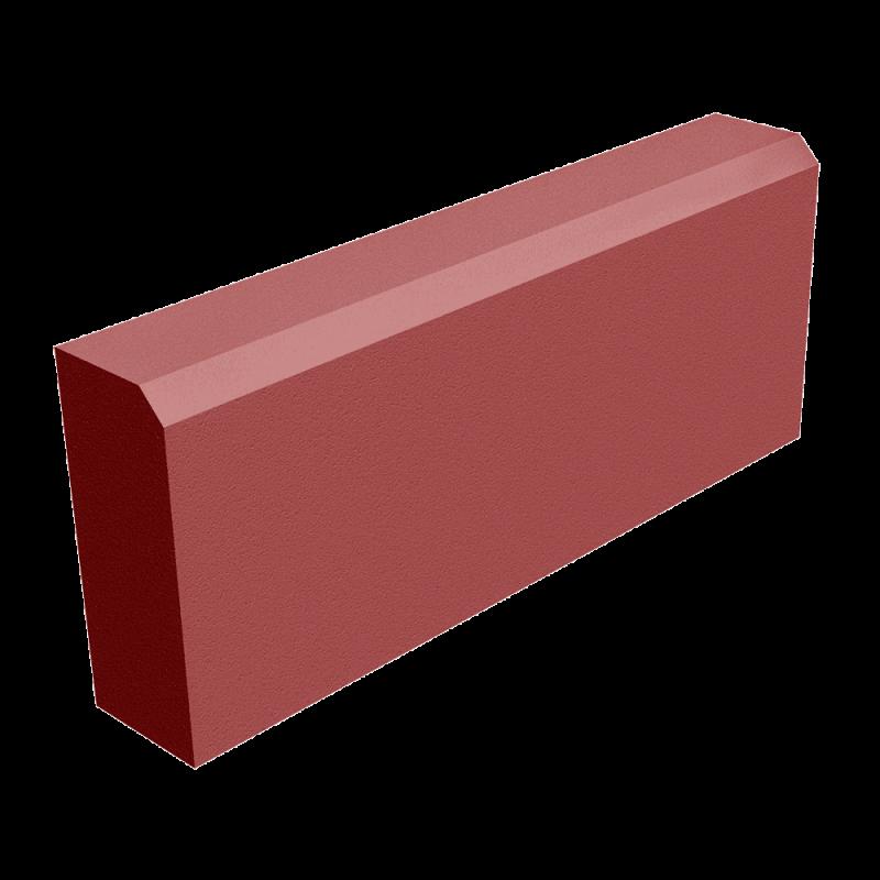 БР 50.20.8 камень бортовой красный