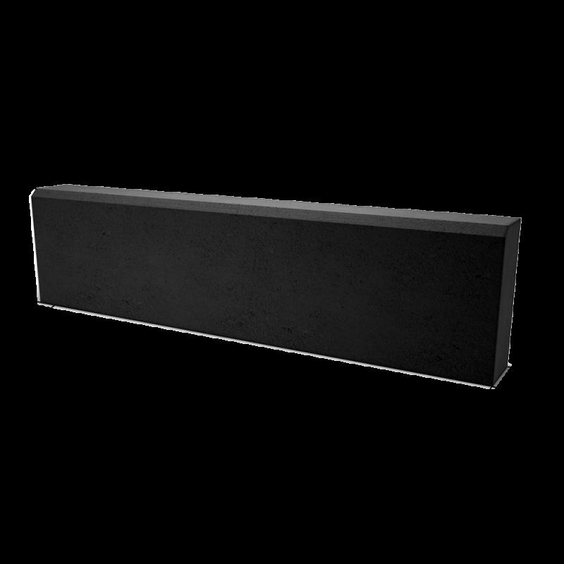 БР 100.20.8 бордюр тротуарный чёрный