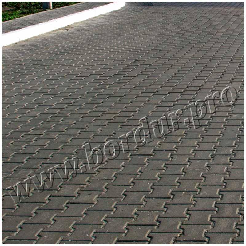 Тротуарная плитка Катушка 200х165x80