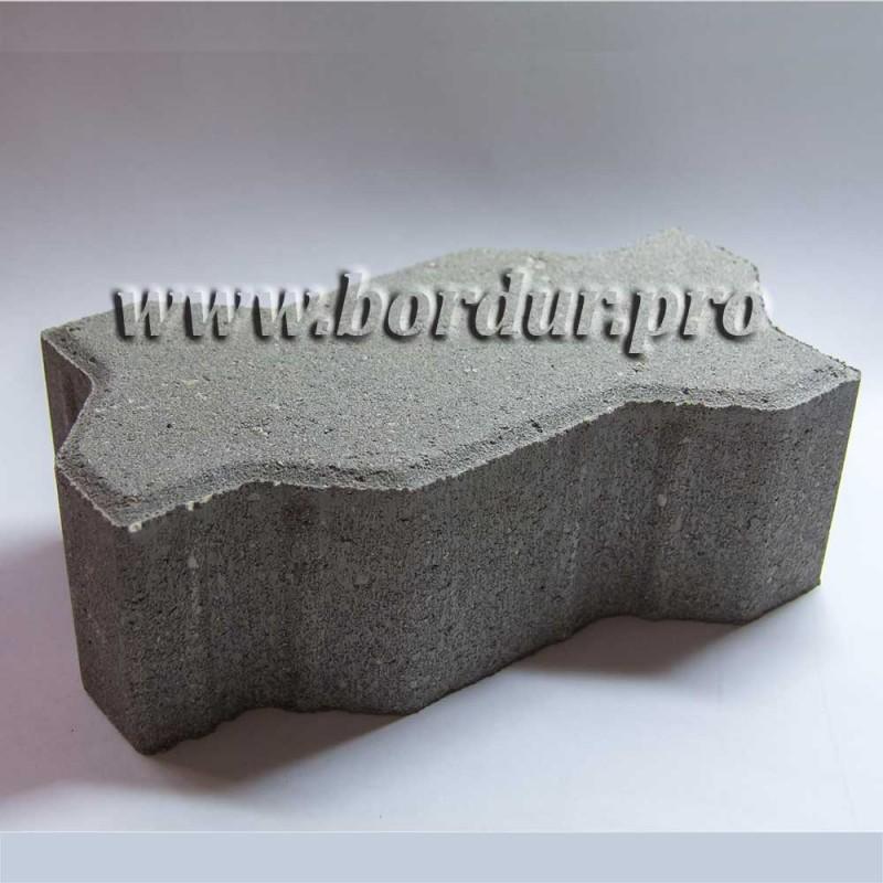 Тротуарная плитка Волна 222х110x80