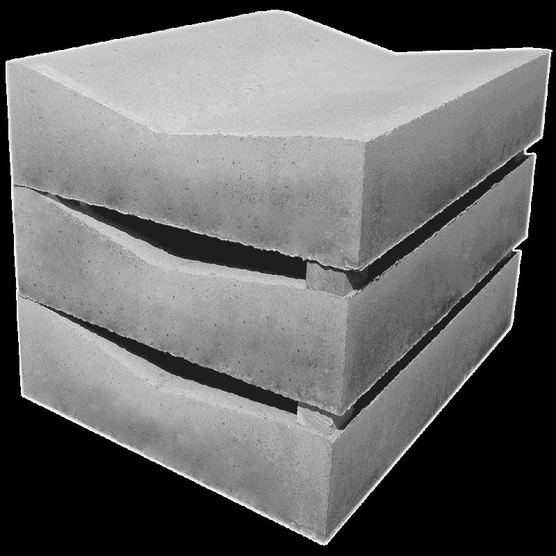 Лоток водоотводный бетонный Б1-20-75