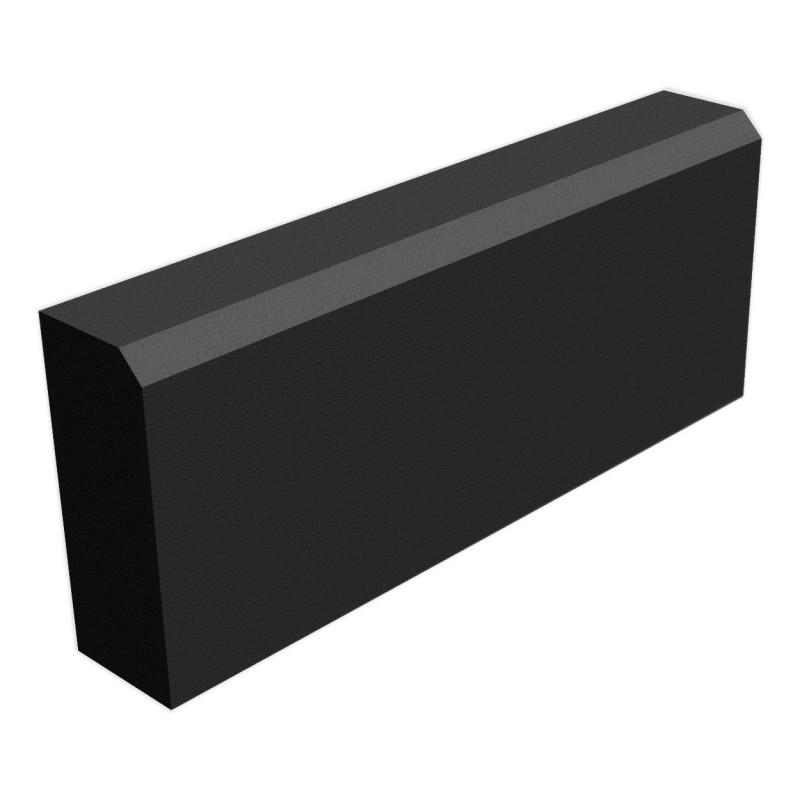 Камень бортовой БР 50.20.8, чёрный