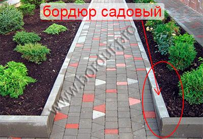 Бордюр садовый фото